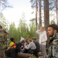 The author's travel – the seminar to the place of power – the mountain Vottovaara in Karelia - Spiritual Life Sacraments