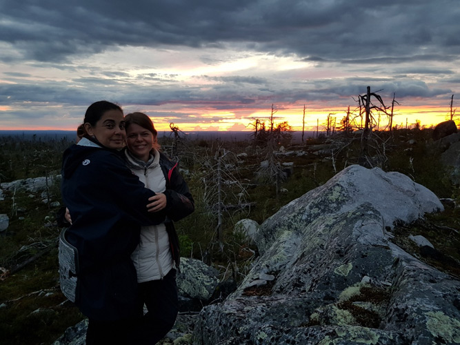 The author's travel – the seminar to the place of power – the mountain Vottovaara in Karelia - Spiritual Life Sacraments