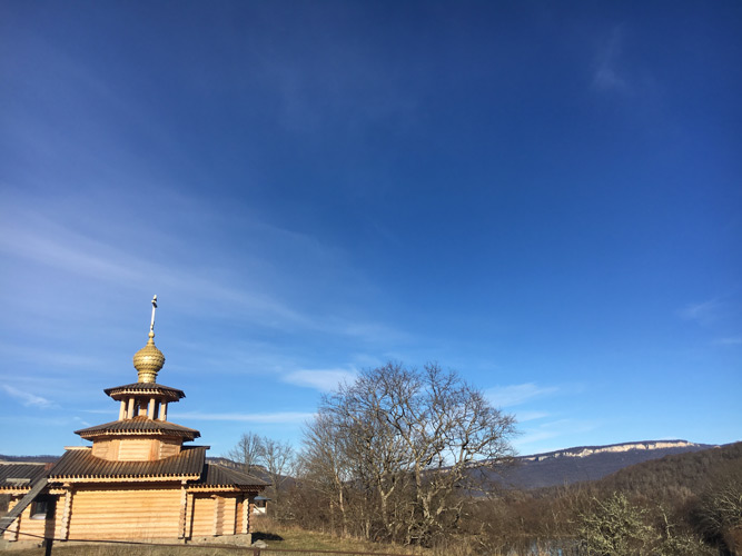 The Temple of the Annunciation of Blessed Virgin in the mountainous Adygea. <i>Project «Synergy» of Dmitry Voevodin</i> - Spiritual Life Sacraments